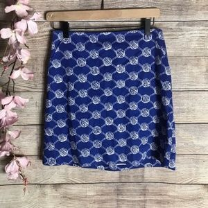 Lilly Pulitzer True Blue Maritime Skirt